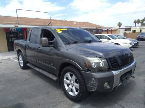 2008 Nissan Titan for sale at Car Spot in Las Vegas NV
