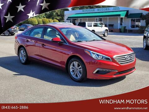 2015 Hyundai Sonata for sale at Windham Motors in Florence SC