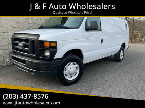 2011 Ford E-Series Cargo for sale at J & F Auto Wholesalers in Waterbury CT
