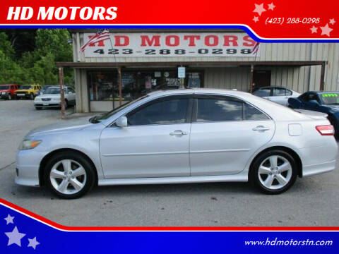2011 Toyota Camry for sale at HD MOTORS in Kingsport TN