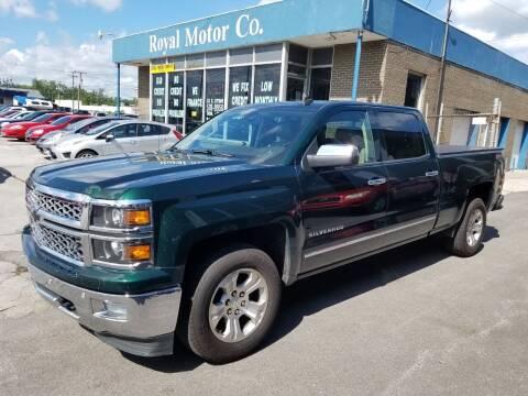 2014 Chevrolet Silverado 1500 for sale at Royal Motors - 33 S. Byrne Rd Lot in Toledo OH