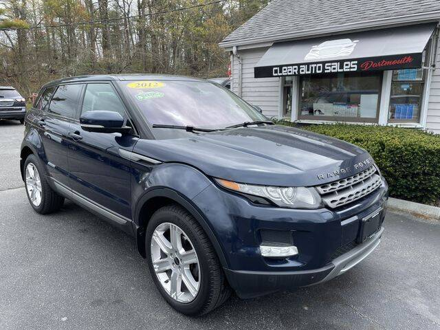 2012 Land Rover Range Rover Evoque for sale at Clear Auto Sales in Dartmouth MA
