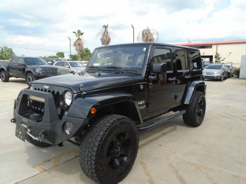 2015 Jeep Wrangler Unlimited for sale at Premier Foreign Domestic Cars in Houston TX