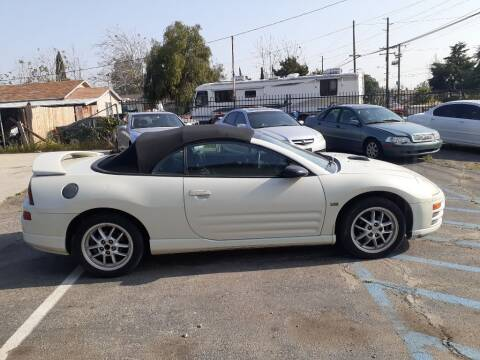 2002 Mitsubishi Eclipse Spyder for sale at RN AUTO GROUP in San Bernardino CA