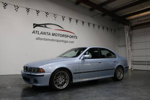 2000 BMW M5 for sale at Atlanta Motorsports in Roswell GA