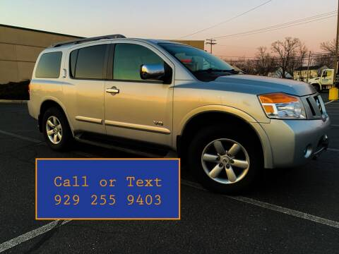 2008 Nissan Armada for sale at Ultimate Motors in Port Monmouth NJ