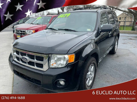2010 Ford Escape for sale at 6 Euclid Auto LLC in Bristol VA