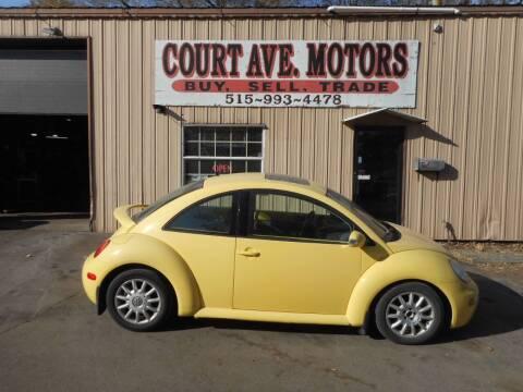 2004 Volkswagen New Beetle for sale at Court Avenue Motors in Adel IA