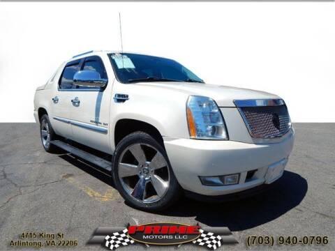 2011 Cadillac Escalade EXT for sale at PRIME MOTORS LLC in Arlington VA