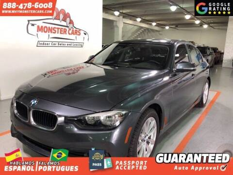 2016 BMW 3 Series for sale at Monster Cars in Pompano Beach FL