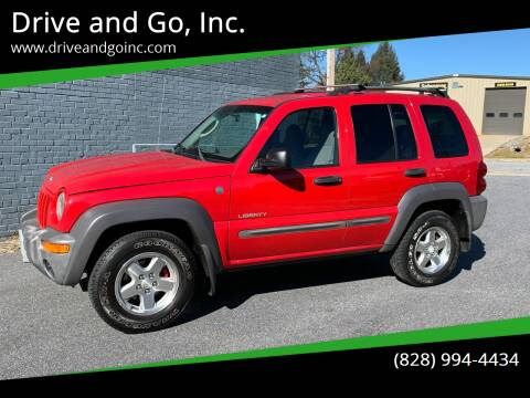 2004 Jeep Liberty for sale at Drive and Go, Inc. in Hickory NC