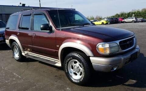 2000 Ford Explorer for sale at Angelo's Auto Sales in Lowellville OH