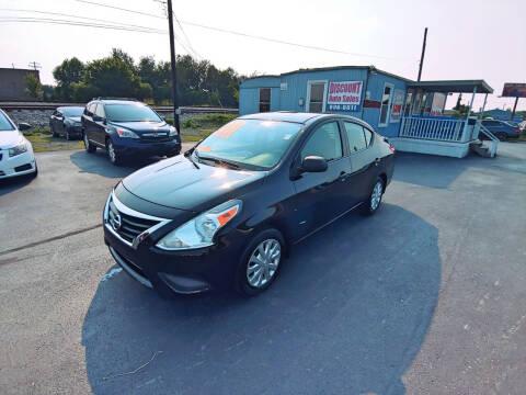 2015 Nissan Versa for sale at DISCOUNT AUTO SALES in Murfreesboro TN