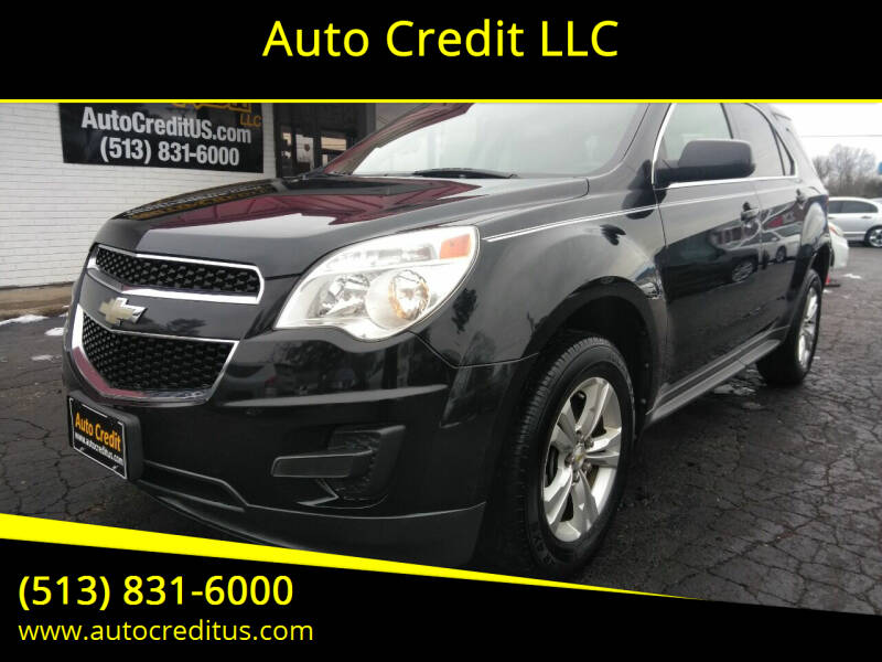 2010 Chevrolet Equinox for sale at Auto Credit LLC in Milford OH