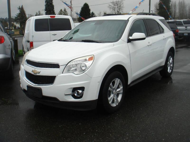 2013 Chevrolet Equinox for sale at Sound Auto Land LLC in Auburn WA