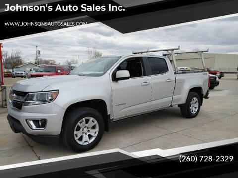 2018 Chevrolet Colorado for sale at Johnson's Auto Sales Inc. in Decatur IN