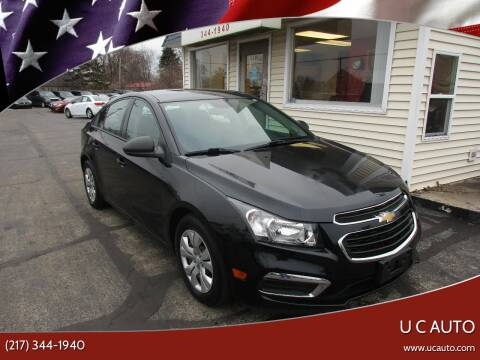 2016 Chevrolet Cruze Limited for sale at U C AUTO in Urbana IL