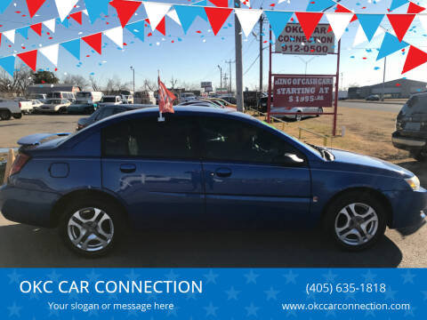 2004 Saturn Ion for sale at OKC CAR CONNECTION in Oklahoma City OK