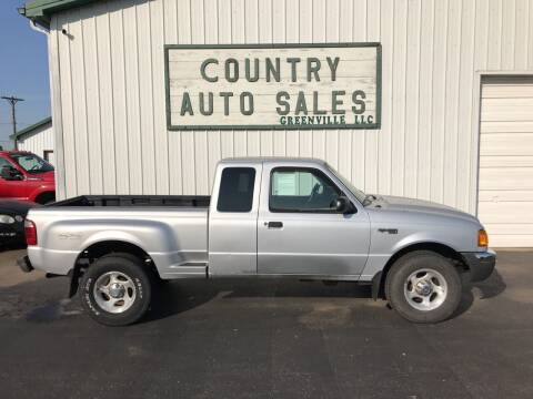 2001 Ford Ranger for sale at COUNTRY AUTO SALES LLC in Greenville OH