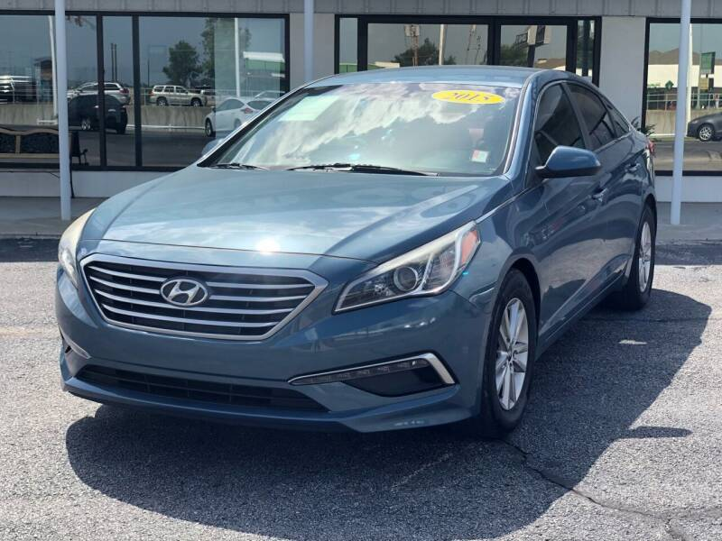 2015 Hyundai Sonata for sale at Nelson Car Country in Bixby OK