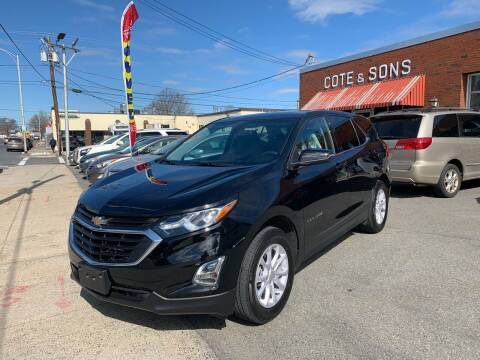 2018 Chevrolet Equinox for sale at Cote & Sons Automotive Ctr in Lawrence MA