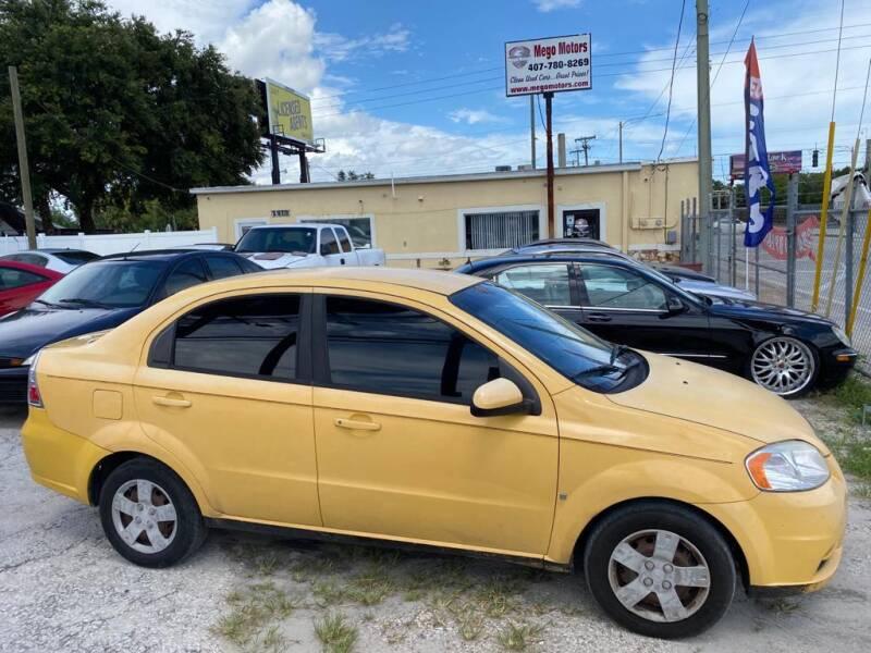2009 Chevrolet Aveo for sale at Mego Motors in Orlando FL