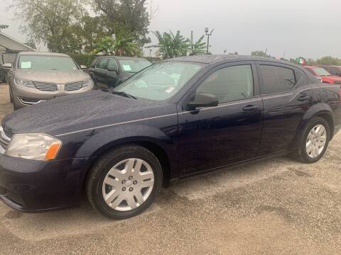 2014 Dodge Avenger for sale at FAIR DEAL AUTO SALES INC in Houston TX