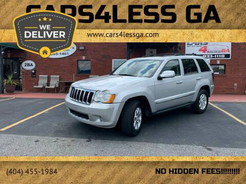 2009 Jeep Grand Cherokee for sale at Cars4Less GA in Alpharetta GA