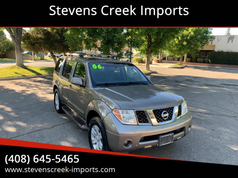 2006 Nissan Pathfinder for sale at Stevens Creek Imports in San Jose CA