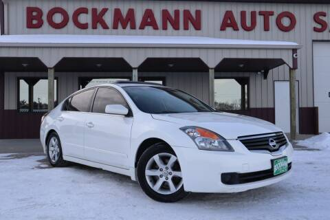 2008 Nissan Altima for sale at Bockmann Auto Sales in St. Paul NE