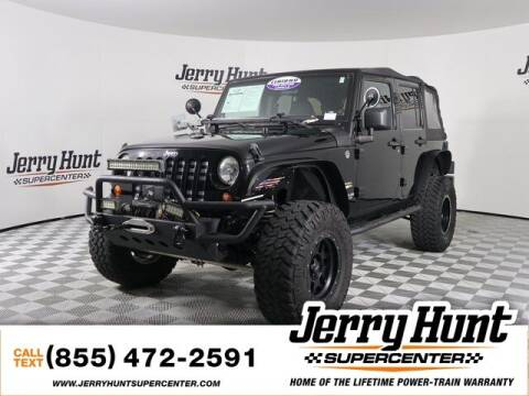 2011 Jeep Wrangler Unlimited for sale at Jerry Hunt Supercenter in Lexington NC