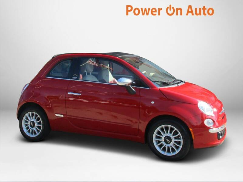 2012 FIAT 500c for sale at Power On Auto LLC in Monroe NC