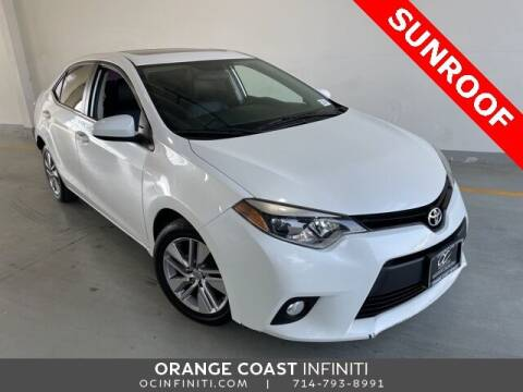 2014 Toyota Corolla for sale at ORANGE COAST CARS in Westminster CA