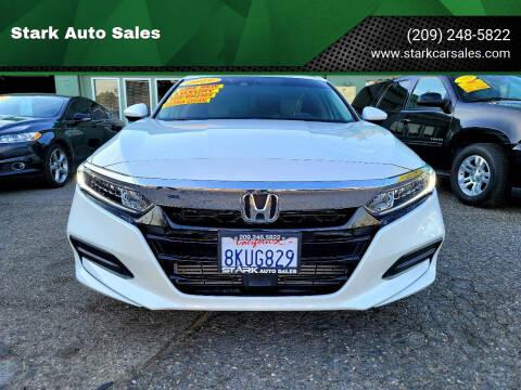 2019 Honda Accord for sale at Stark Auto Sales in Modesto CA
