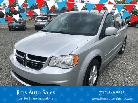 2012 Dodge Grand Caravan for sale at Jims Auto Sales in Lakehurst NJ