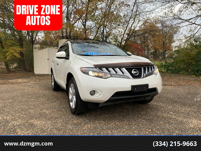 2010 Nissan Murano for sale at DRIVE ZONE AUTOS in Montgomery AL