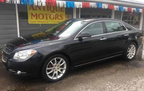 2012 Chevrolet Malibu for sale at Antique Motors in Plymouth IN