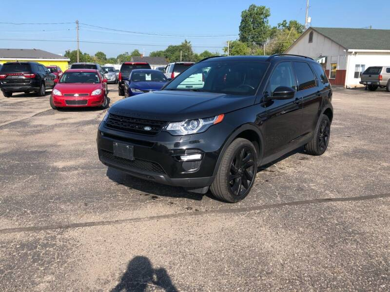 2016 Land Rover Discovery Sport for sale at Dean's Auto Sales in Flint MI