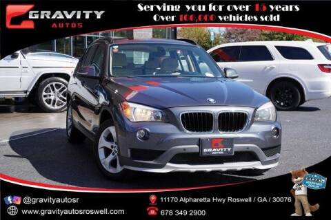 2015 BMW X1 for sale at Gravity Autos Roswell in Roswell GA
