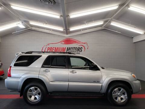 2006 Toyota 4Runner for sale at Premium Motors in Villa Park IL