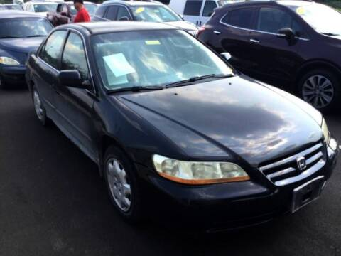 2001 Honda Accord for sale at D & J AUTO EXCHANGE in Columbus IN