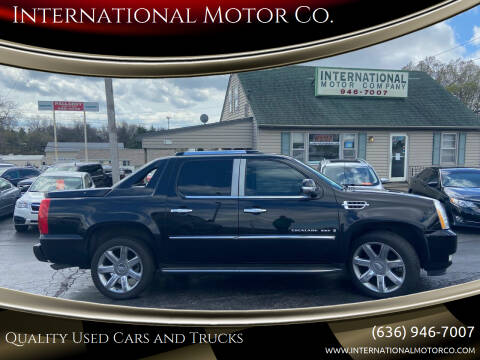2007 Cadillac Escalade EXT for sale at International Motor Co. in St. Charles MO