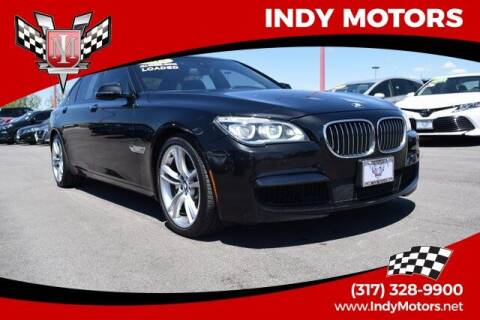 2015 BMW 7 Series for sale at Indy Motors Inc in Indianapolis IN