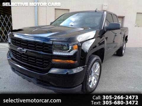 2018 Chevrolet Silverado 1500 for sale at Selective Motor Cars in Miami FL