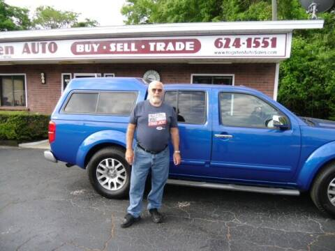 2013 Nissan Frontier for sale at HOGSTEN AUTO WHOLESALE in Ocala FL