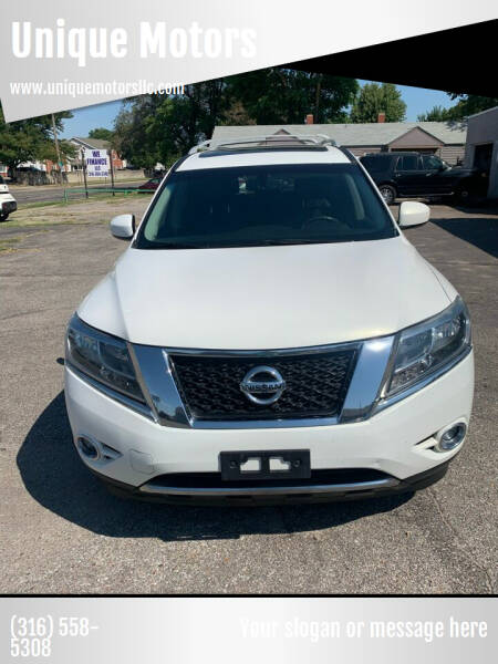 2013 Nissan Pathfinder for sale at Unique Motors in Wichita KS