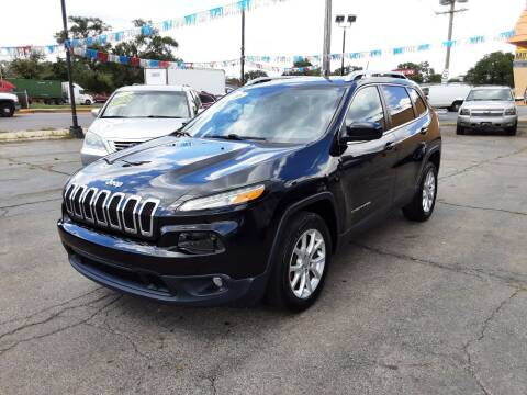2016 Jeep Cherokee for sale at TOP YIN MOTORS in Mount Prospect IL