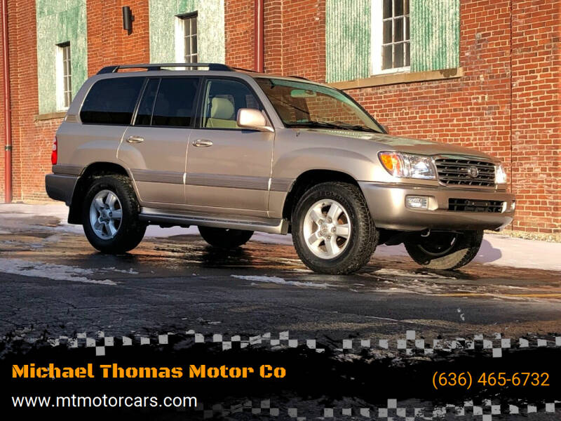 2004 Toyota Land Cruiser for sale at Michael Thomas Motor Co in Saint Charles MO
