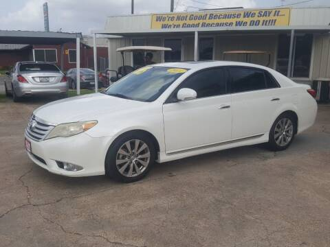 2011 Toyota Avalon for sale at Taylor Trading Co in Beaumont TX