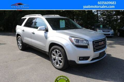 2013 GMC Acadia for sale at Yaab Motor Sales in Plaistow NH